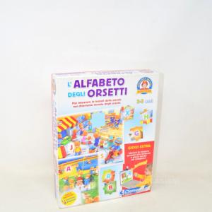 L'alfabeto Degli Orsetti Sapientino Clementoni