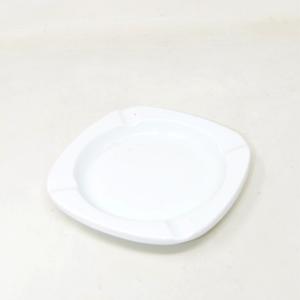 Posacenere Ceramica Bianco Richard Ginori Made In Italy 15 Cm