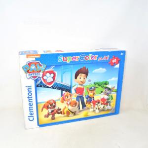 Puzzle Clementoni Supercolor Paw Patrol 60 Pezzi