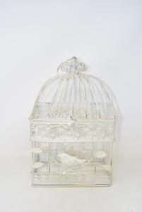 Cage Shabby Chic 34x14x21 Cm