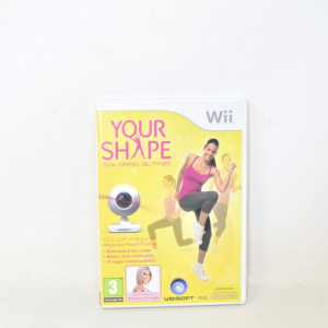 Video Game Nintendo Wii Your Shape You - Center Of Fitness