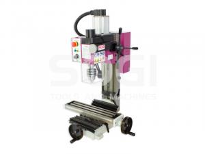 Fresatrice trapano fresa SOGI S2-30D motore Brushless in CC da banco professionale