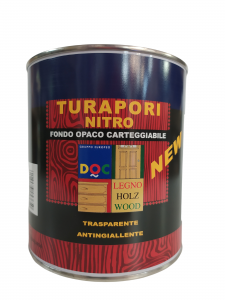 TURAPORI NITRO FONDO OPACO TRASPARENTE 750ML