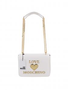 Love Moschino Borsa a Tracolla Donna Bianca
