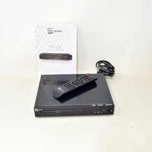 Reader Dvd / Usb Telesystem Ts5105 Complete Of Instructions And Remote Control
