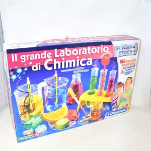 Gioco Il Grande Laboratorio Di Chimica Scienza&gioco Clementoni