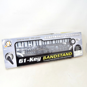 Game Keyboard Electric 61-key Bandstand