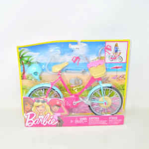 Game Bicycle Of Barbie New