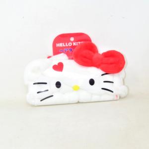 Fascia Per Capelli Hello Kitty Bianca Nuova