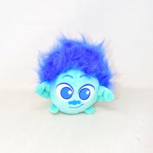 Peluche Trolls Con Capelli Blu