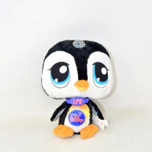 Peluche Littlest Pet Shop Vips Pinguino Nuovo