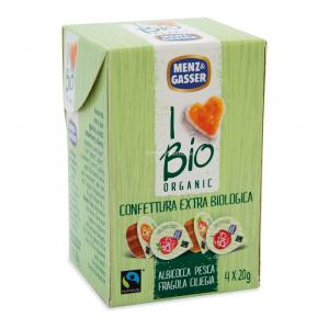 Confettura extra monodose assortita Menz & gasser bio