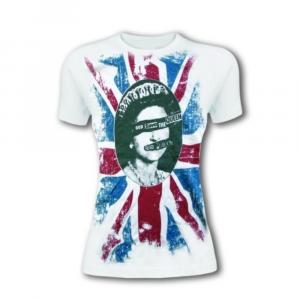 T-shirt manica corta Sex Pistols donna taglia XL