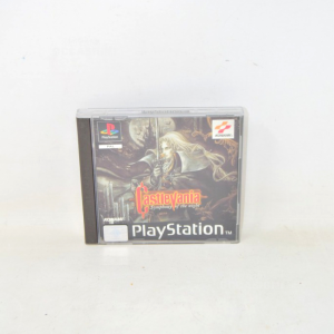 Video Game Playstation Castlevania Sles 00524 With Manual