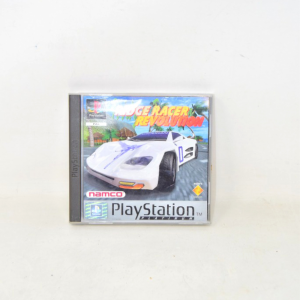 Video Game Ridge Racer Revolution Sces 00242 With Manual