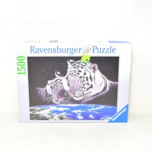 Puzzle Coppia Tigri Bianche 1500 Pezzi