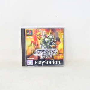 Video Game Play Station Armored Core Sces 00842 With Manual