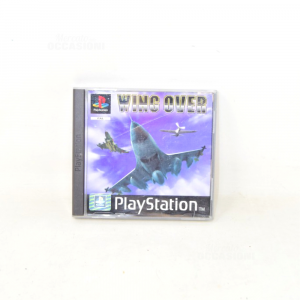 Video Game Playstation Wing Over Sles00540 With Manual (defect Case)