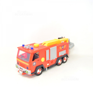 Game Truck Of Firefighters With Sirene