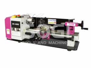 Tornio da banco di precisione M1-350S SOGI 180 x 350 motore brushless in CC parallelo
