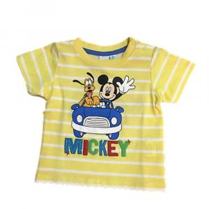 Maglietta 6 mesi Topolino manica corta neonato giallo