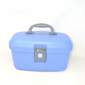 Travel Beauty-case Delsey Hard Color Indigo Made In France Cod.263