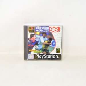 Video Game Playstation Premiermanager98 Sles01284