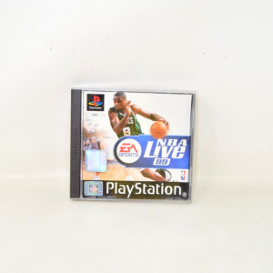 Video Game Playstation Nba Live 99 Sles01456 With Manual