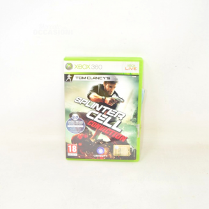 Video Gamexbox360 Splinter Cell Conviction With Manual
