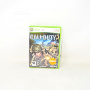 Video Gamexbox360 Call Of Duty3 With Manual