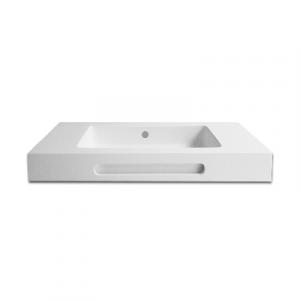 LAVABO LINEA EMOTION MOD. SHARP 01                                     Bianco 81x46xh12 P.A. centrale