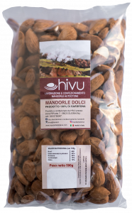 Packed Almonds Sardinia Shelled 500 gr.