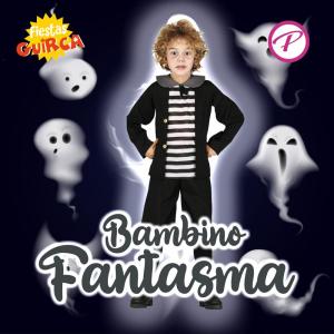 Costume Bambino Fantasma (nello stile di Pugsley Addams)