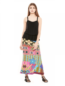 Long viscose skirt. Summer skirts shop online