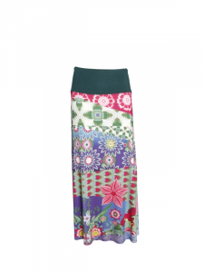 Long viscose skirt. Shop jersey skirts online