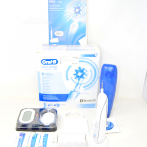 Toothbrush Electric Oral B Braun Pro 6000 Smart Series Bluetooth New