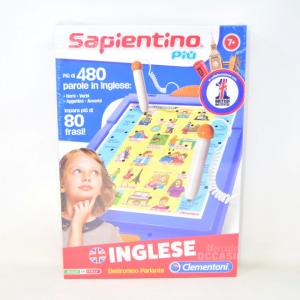 Game Sapientino English Clementoni 7 + New