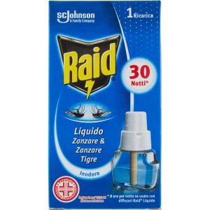 RAID Ricarica Liquida 30 notti classico 21ml