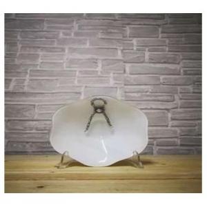 G&G Charme Bianco Centro Tavola 42 cm Meduz Centrotavola Decorato Per La Cucina