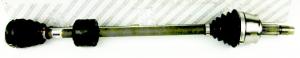 SEMIASSE DESTRO FIAT PANDA 169, ORIGINALE,