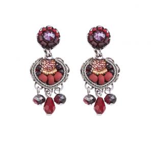 Ruby Love Earrings-2
