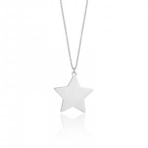 Luca Barra - Collana in acciaio con stella