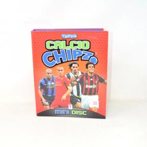 Album With 113 Mini Disc Football Chipz Footballers