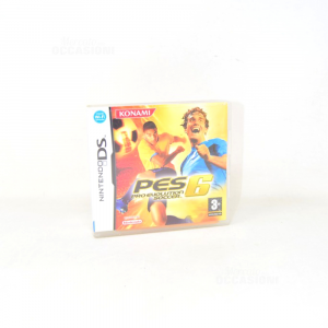 Video Game Nintendo Ds Pes 6