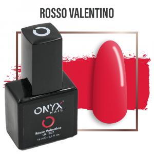 Smalto Semipermanente Rosso Valentino 4 in 1 Linea Unix - 15 ml