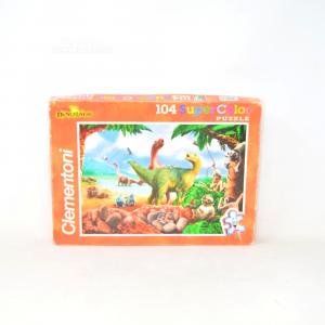 Puzzle Clementoni Dinosauri 104 Pieces