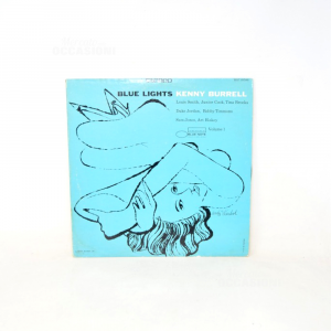 Vinyl 33 Turns Blue Lights Kenny Burrell