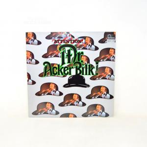 Vinyl 33 Turns Attention Dr.acker Bilk!