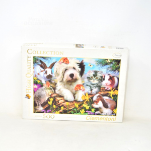 Puzzle 500 Pieces Clementoni Animals