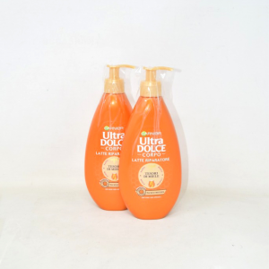 Pair Milk Riparatore Body Ultra Dolce Garnier Treasures Of Honey